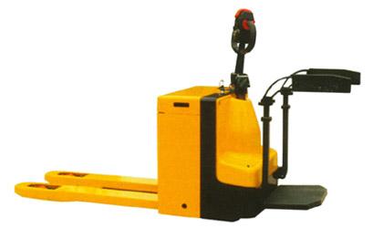供应苏州全电动搬运车 自走式电动托盘车 电动液压升降叉车图片